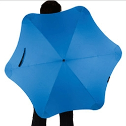 Blunt Umbrellas - If only everyone had one of these, the rainy world would be a lot safer. This design eliminates the pointy ends and has a 'radial tensioning' system for greater strength.