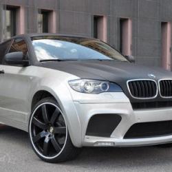 Enco Exclusive gave 2010 BMW X6 wider, brawnier, sportier look.