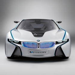 The hybrid BMW Vision EfficientDynamics will be produced by the german brand to be available in 2013.