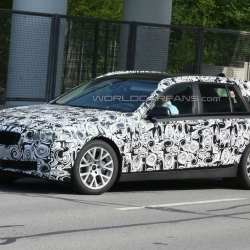 When BMW tests a prototype in public, the company uses very interesting (anti-)camouflage.