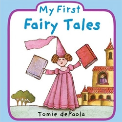 My First Fairy Tales (Board book) by Tomie dePaola should be another fun option for the little ones ~ curious to see how he tells 4 stories in 24 pages...