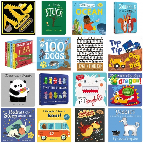 NOTkiddo Board Book favorites (so far and growing!) There are the books we want him to love, and the ones that he actually loves... this Amazon list contains the latter! Any recommendations?