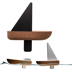 Cork Sail Boat - design for Lisbon-based Materia by Swiss Studio, Big-Game.