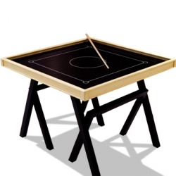 Turn off the power - turn on the fun. Meet BOB, a Danish version of the Indian Carrom tabletop game.