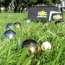 Summer is the season for lawn bowling. Learn how Bocce balls are made.