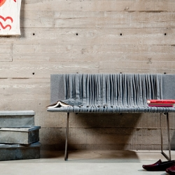Series 25 is a minimalistic but impressively beautiful bench designed by Omar Arbel for Bocci.