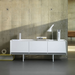 German Manuacturer Böwer launched new sideboards by designer Eric Degenhardt at imm cologne.