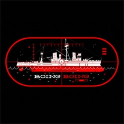 Our friend, Kevin Dart (of Yuki 7!) did an awesome Boing Boing Ship Shirt