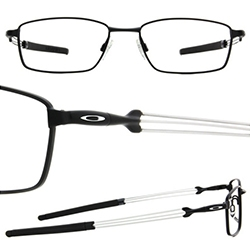 Oakley Catapult Rx Eyeglasses - love the details from the tiny bomb of a hinge to the way the three thin metal rods come together for the stems. Also incredibly lightweight and comfortable.
