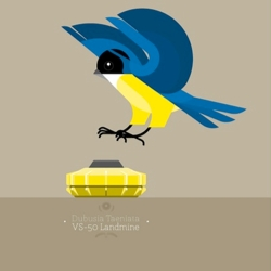 3 amazing posters aims at education about both the disappearance of birds and the propagation of bombs. This series by Camilo Carmona called Bombirds is made with a great minimalist style.