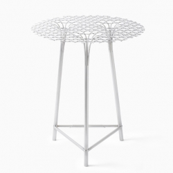 'Bamboo-steel' table by Nendo for Han Gallery.