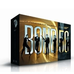 Full James Bond collection coming to blu-ray! Bond 50: The Complete 22 Film Collection