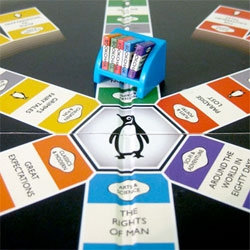 The Great Penguin Bookchase! Perhaps the perfect board game for book lovers?