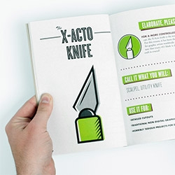 """The DIY Guide to Getting Stuff Done"" by Alex Register Design - this looks so fun, wish it was really available!"