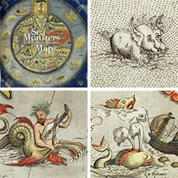 """""""Sea Monsters on Medieval and Renaissance Maps"""" by by Chet Van Duzer looks fascinating!"""