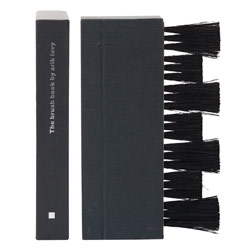 For the book lovers who need something better than a feather duster to keep those books clean... the Book Brush! Shaped like a book, and for books!
