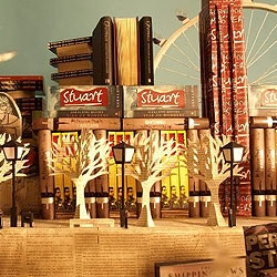 City of Books: a beautiful stop-motion animation for 4th Estate Publishers 25th Anniversary. Produced by Apt Studio.