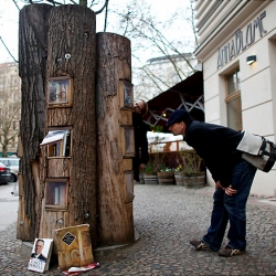 "The ""book forest"" is part of a program called 'Research for Sustainable Forestry' promoted by the Federal Ministry of Education and Research in Germany."