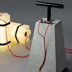 'Mister Boom and Little Miss Dynamite' lighting solutions created by German brand Docstone.