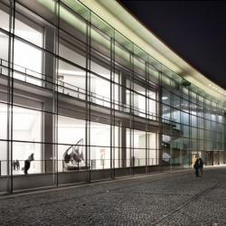 Melissa + Zaha Hadid giant boot created by Casa Darwin, now at Die Neue Sammlung, Nuremberg, Germany.
