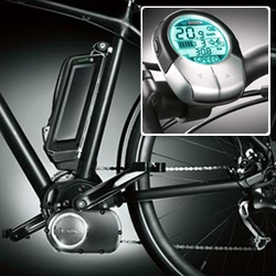 Bosch 'E-Bike' developed in partnership with Cannondale.