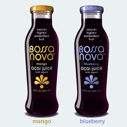 For Acai lovers - Bossa Nova - nice logo, bottle design