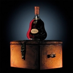 Hennessy has released a Methusalem of their X.O. which comes in a chest made by shoe maker Berluti.