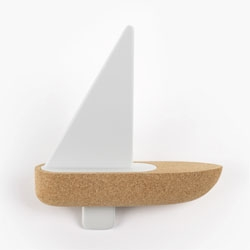Bote, series of cork toy boats for Portuguese company Materia, designed by Big Game.