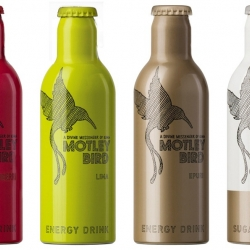 MOTLEY BIRD is a boutique version of an energy elixir. The drink was developed by creative nomads to boost the influence of the imagination of our society. Set 'em free...