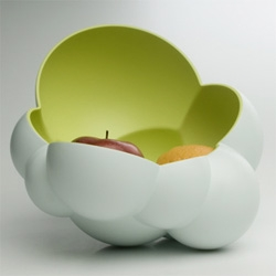 Bubblicious ~ fun bowl by D-Vision ~ depending on fruit/weight placement the bowl takes on a new position