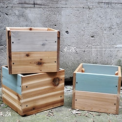 Objets Mécaniques 4.2 Bac à fleurs, édition 2012 planter