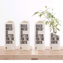 Boxed Water is Better for the Earth.