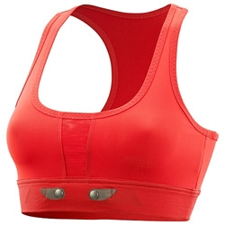 Wearable tech - Adidas by Stella McCartney Tennis MiCoach Performance Bra ~ interesting to see the heart sensor built in!