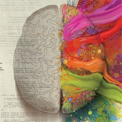 Mercedes Benz Left Brain/Right Brain ads ~ beautiful graphics out of Y&R Interactive Tel Aviv