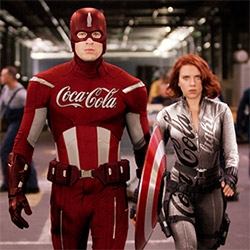 Sponsored Heroes - love this photoshopped set by Roberto Vergati Santos. Imagine if superheroes has sponsors... Iron Man/McDonalds, Batman/Nike, Avengers/Coke, Flash/Red Bull, Silver Surfer/Apple, and more!