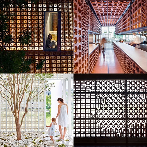 Breeze Block Architecture Roundup on Yellowtrace. A mesmerizingly look at SO many examples of one of our favorite trends at NOTCOT.