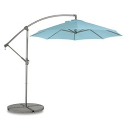 Outdoor sale at Room & Board ~ just spotted this Waikiki Umbrella in Charcoal/Blue
