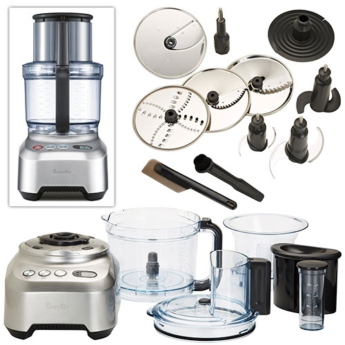Breville Sous Chef Food Processor. We've been amazed + impressed with this in the NOTkitchen (So had to share!) The mini bowl and large main bowl as well as the adjustable thickness slicer + box full of tools have been magically efficient!