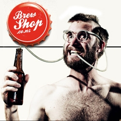 Brewshop! Awesome store in NZ for home brewers ~ really fun design.