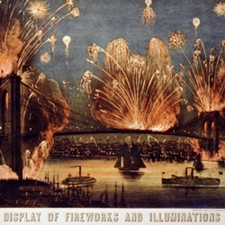 The Brooklyn Bridge celebrates its 125th Anniversary on May 24, 2008.