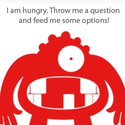 """Brightbot is a cute, quirky and """"useful"""" iPhone app. He is good at making tricky decisions."""