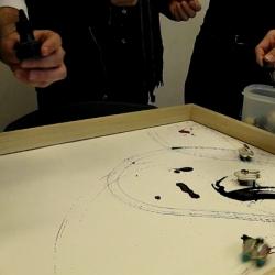 Bristlebots + Paint = Robo-Pollocks?