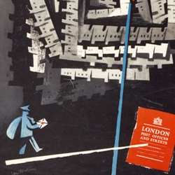 "The London College of Communication is hosting an exhibition in association with The British Postal Museum and Archive titled ""Designs on Delivery: GPO Posters 1930-1960..."""