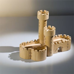 Castle beech wood playset from Brno.