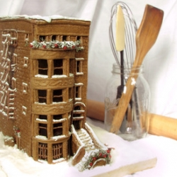 Why settle for a cottage? This year move up to a Gingerbread brownstone!