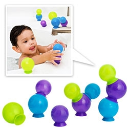 Boon's BUBBLES ~ suction cup bubble bath toys (in two colorways!)