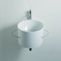 Pure and simple: The Bucatini sink from Agape.