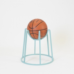 Basketball hoop with an iconographical approach, Bucket is a versatile structure – by flipping upside down, it can be used as a stool, a ball storage, and a table base.