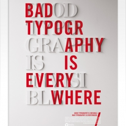 Typography inspiration by Craig Ward
