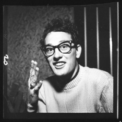 Buddy Holly is documented in a new photography exhibition at Proud Galleries, which coincides with the fiftieth anniversary of the first rockstar death in history. Buddy's style is almost as lasting as his music.